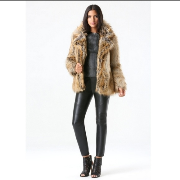 bebe Jackets & Blazers - Bebe Faux Fur Jacket